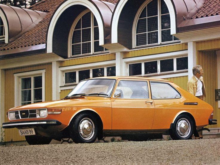 1975 SAAB 99 CC. Min tredje bil. En stark och varm bil