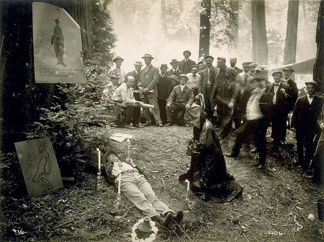 Bohemian Grove Logo | Bohemian Grove 1906 | Flickr - Photo Sharing!