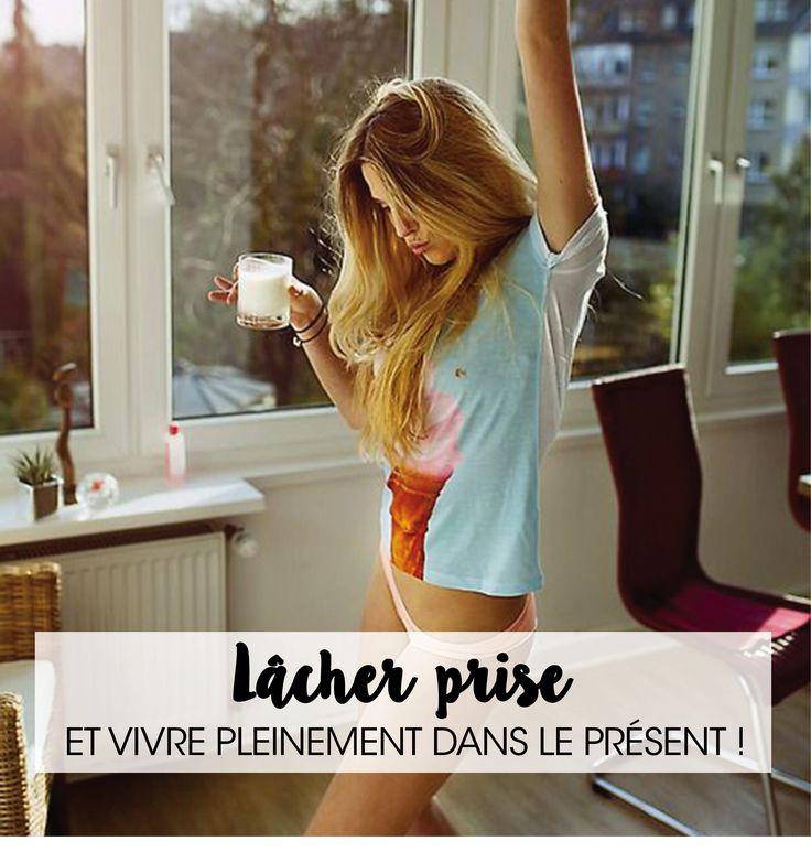 LÂCHER PRISE ET VIVRE PLEINEMENT DANS LE PRÉSENT – Good Vibes Only