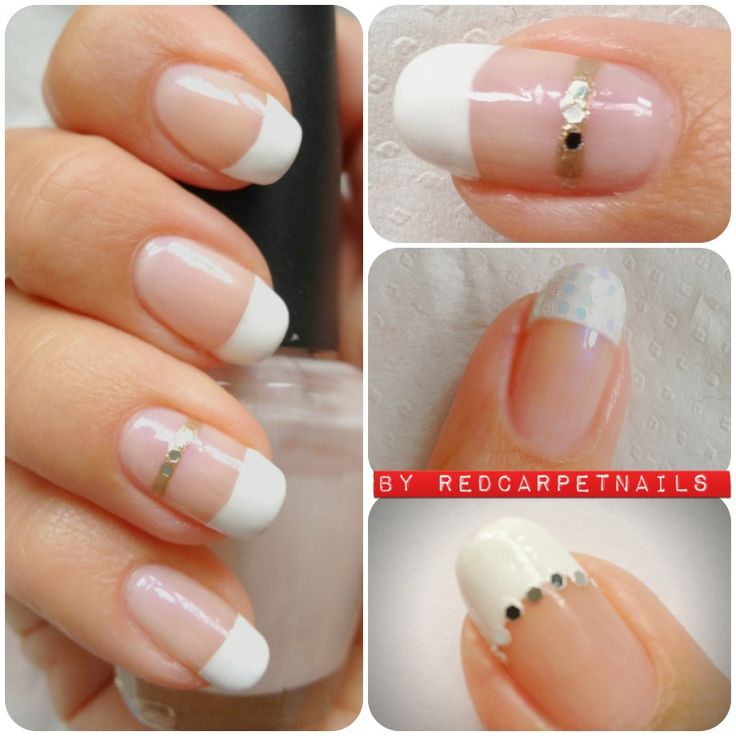 #wedding #bridle #prom #frenchmanicure #nails by Manicurism £15.
