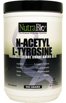 NutraBio N-Acetyl L-Tyrosine -- Read the warnings on this too....