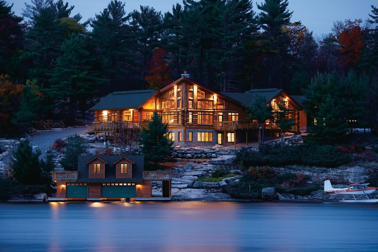 Pollard Windows & Doors - Liberty Collection; Muskoka, Ontario  #windows #cottage #muskoka