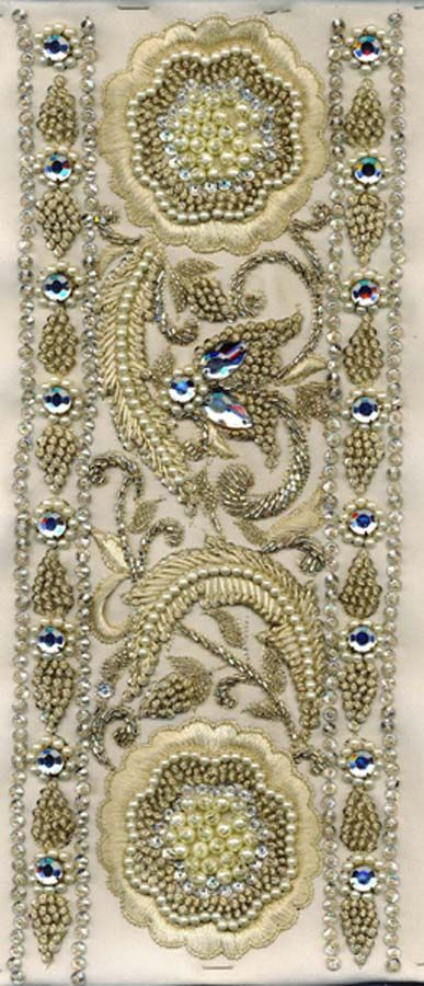 Embroidery Swatch from India.