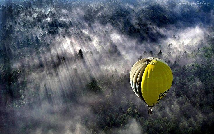 Balon, Las, Mgła