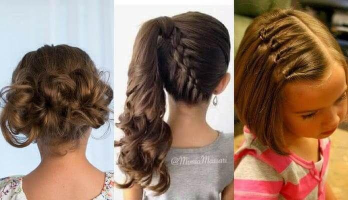 Peinados Faciles Para Ninas Coquetos Y Adorables Fotos Tutoriales Peinados De Ninas Faciles Peinados Para Ninas