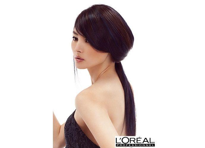Peinado colmena con coleta L'Oreal