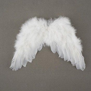 Feather Angel Wings W Elastic Straps Children S Costume