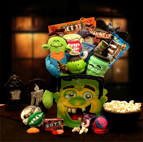 Frankie's Halloween Monster  Mash Tote is a gift any little ghost or goblin would LOVE! We deliver nationwide folks!