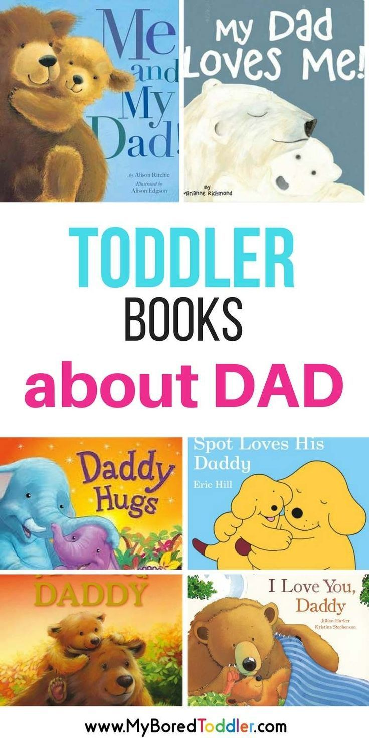 Best toddler books about Dad for toddlers. We have found our favorite toddler books for Dad that are perfect for Father's Day or as a birthday or Christmas present for Dad. Such cute toddler picture books that are perfect for them to read together.