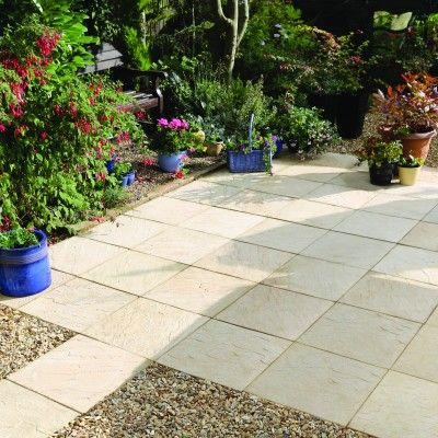Bradstone Edale Paving Is A Low Cost Traditional Paving. A Gentle Riven  Paving With Smooth