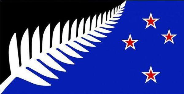 Noua Zeelandă îşi alege un nou steag. Cum arată drapelul care a fost desemnat câştigător preliminar - FOTO