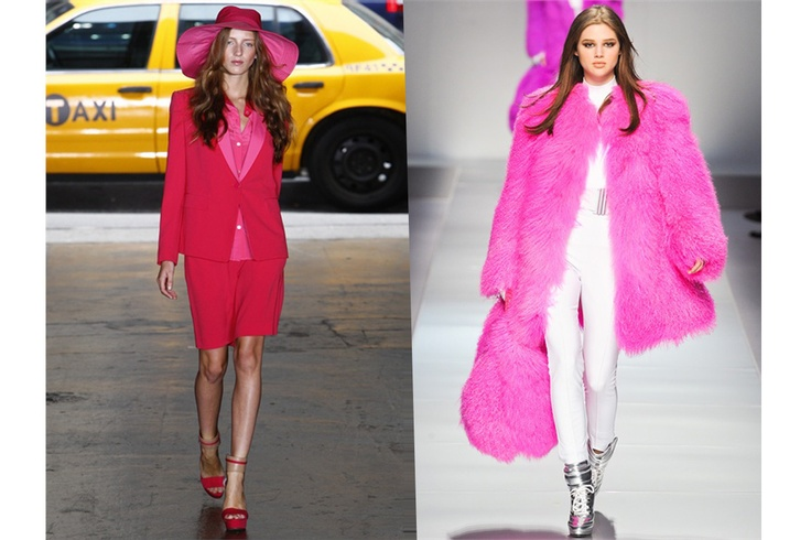 Da sinistra: DKNY P/E 2012 e l'A/I 2013 firmata Blumarine