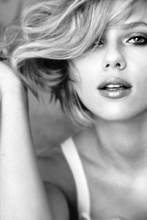Hair - Scarlett Johanson's Style   Blond