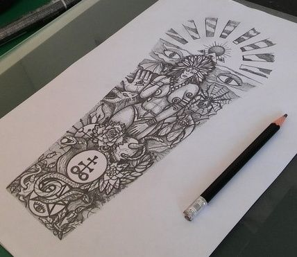 1 DOLLAR tattoo - 13 by thehoundofulster