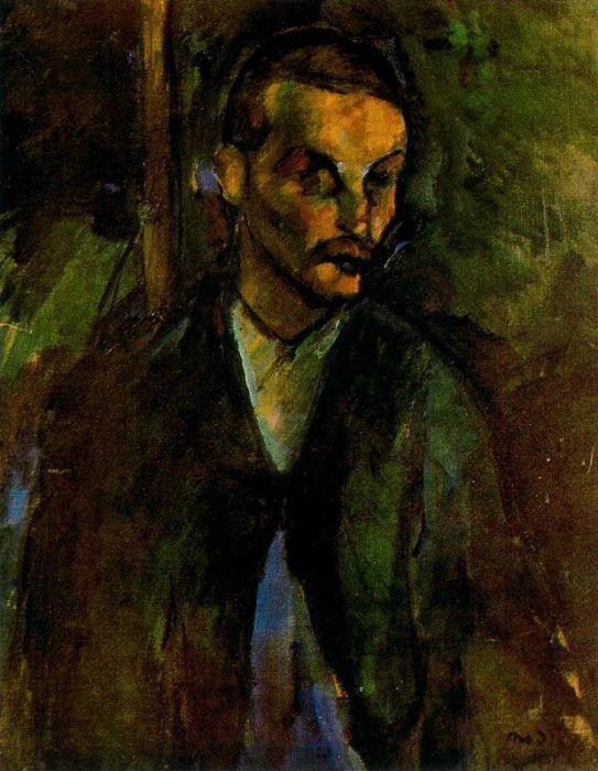 Нищий (Крестьянин из Ливорно), 1909. Амедео Модильяни
