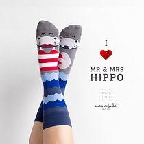 Skarpetki Mr & Mrs Hippo, skarpetki - damskie