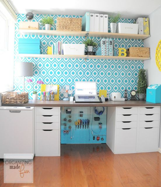 How to Hide Messy Cords with Pegboard | Organizing Made Fun: How to Hide Messy Cords with Pegboard: