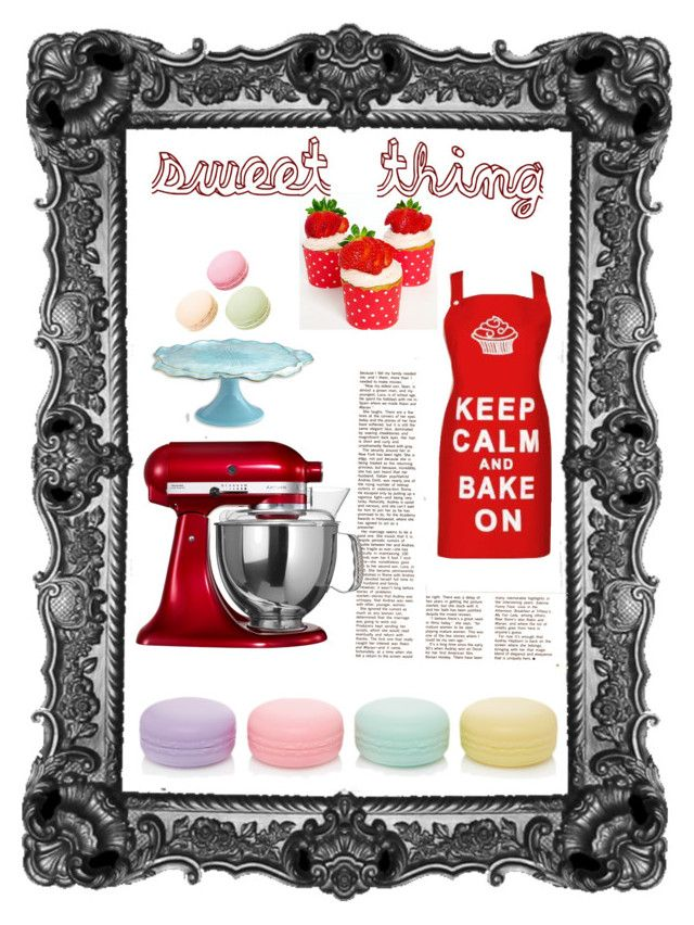 """bakery addiction"" by anagalvezschuler on Polyvore featuring arte"