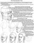 DeviantArt: More Like Facial Proportions Worksheet 4 by lantairvlea