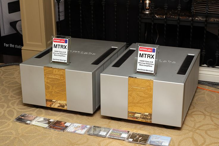 EMM Labs' MTRX amplifiers.produces a prodigious 750Wpc into 8 ohms, 1500Wpc into a 4-ohm load, and is stable all the way down to 1 ohm. Priced at $130,000 per pair