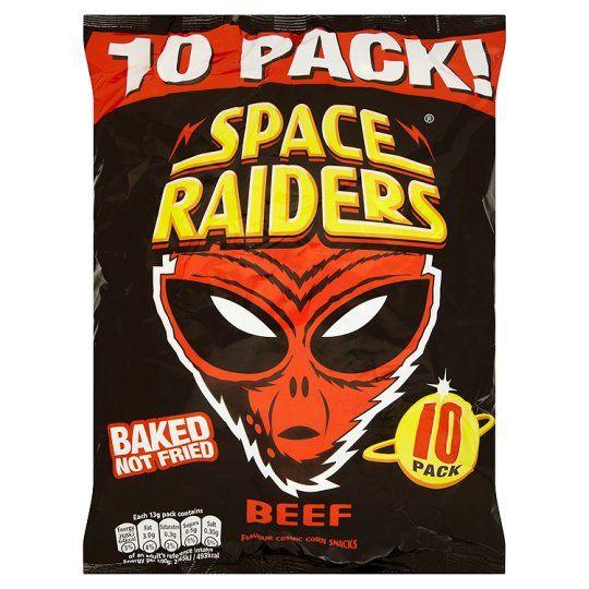 Space Raiders Beef 10X13g