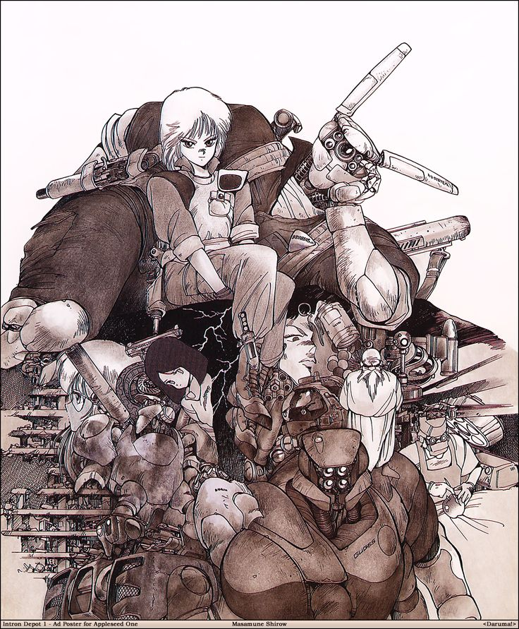 Appleseed Character Design : Best appleseed images on pinterest cyberpunk action