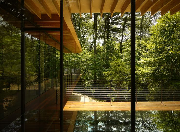Glass/Wood House by Kengo Kuma