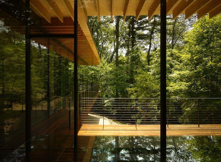 Glass/Wood House - Kengo Kuma Connecticut, EUA - 2010