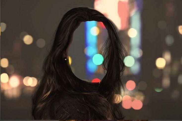 La imagen muestra a una mujer sin rostro.