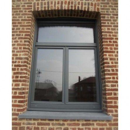 fenêtre pvc avec imposte Envie de cette belle réalisation ? Consultez-nous www.dupre-renovation.fr !!! Fenêtres PVC, alu, ouverture maison, galandage, baie vitrée,