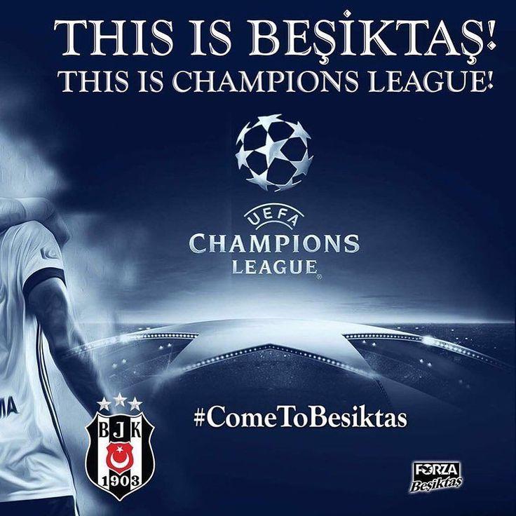Herkes kendi liginde! Başarılar Beşiktaş...  #Beşiktaş #siyah_beyaz #championsleague  #ucl