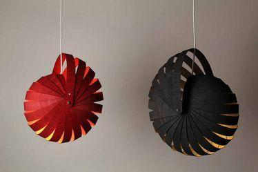 Nautilus Hanging Lampshade - How to DIY????