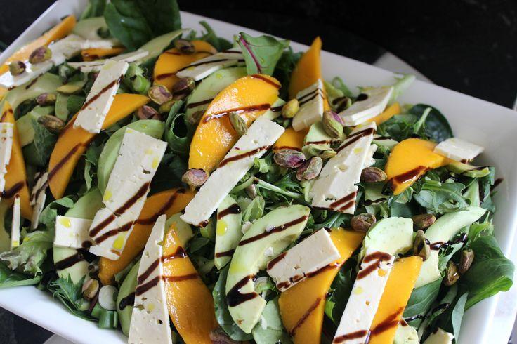 Mango and feta summer salad 2