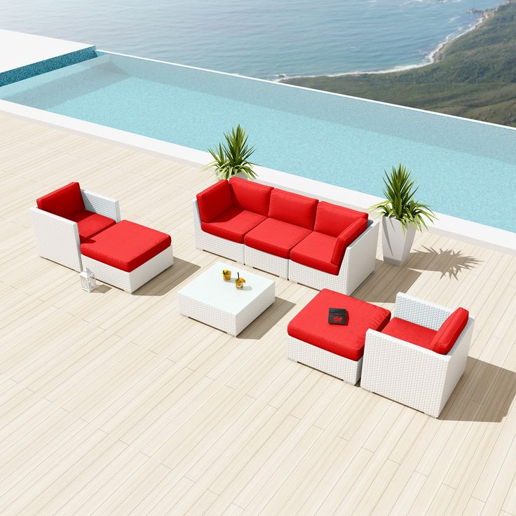 This amazing set , will go great with your patio.