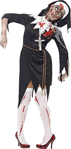 Smiffys Womens Zombie Nun Costume ** Check this awesome product by going to the link at the image.