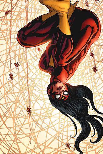 Imagenes de Superhéroes: La Mujer Araña, Araña - Mujer, Comics