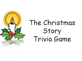 Christmas Story Trivia Game Biblical Account of Jesus' Birth Christmas Story from Bible