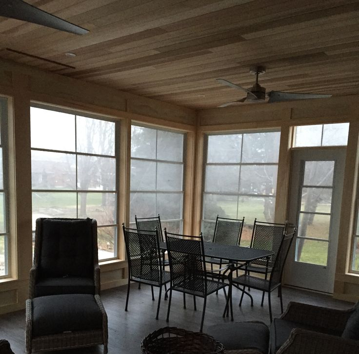 Beautiful sun room for a backyard or cottage built by The Anything Guys