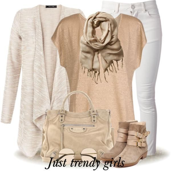 neutral tones fall outfit, How to dress smart casual in winter http://www.justtrendygirls.com/how-to-dress-smart-casual-in-winter/