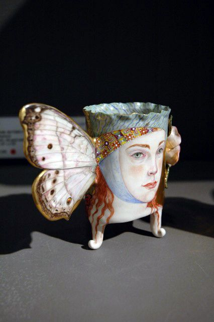"""""""Mother-of-Pearl Butterfly"""" Jane Sauer Gallery"""