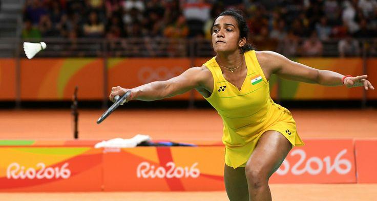 PUSARLA V. Sindhu badminton Rio