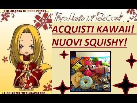 ACQUISTI KAWAII! NUOVI SQUISHY! video haul very cute!