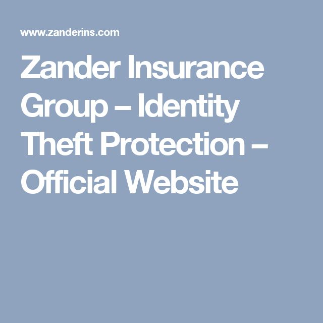Zander Insurance Group – Identity Theft Protection – Official Website