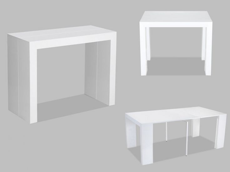 1000 ideas about console extensible blanc laqu on pinterest console exten - Panneau mdf laque blanc ...