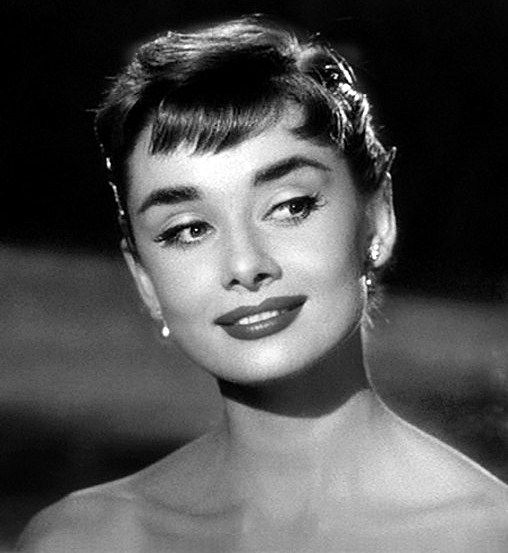 Audrey in 'Sabrina', 1954.