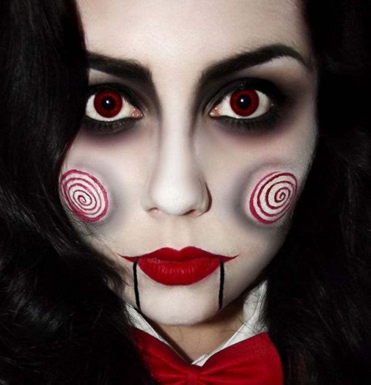 Maquillage d'Halloween : la poupée de Saw