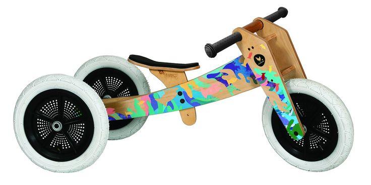 Wishbone Bike - Limited Edition Tangaroa - Wooden Toys - Shop