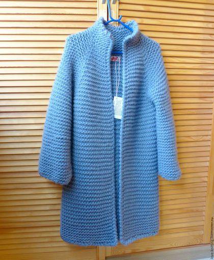 Gensere og håndlagde gensere.  Cardigan GREY.  Anna.  Nettbutikk Fair Masters.  eiker genser, varm gave