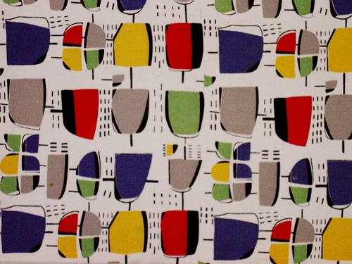 Modernist Textiles | 1950's & Henry Moore