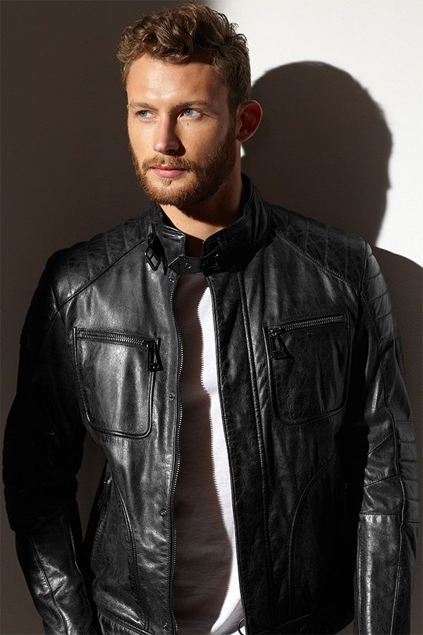 Brooding in Belstaff: The 'Weybridge' Quilted Leather Moto Jacket is a  rugged take